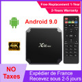 Authentic X96mini iptv tv box Android 9.0 media Player s905w Quad Core 2G 16G x96 mini ip tv Set Top Box ship from france