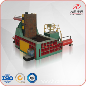 Side Push-out Scrap Steel Turnings Recycling Baling Press