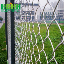 PVC Black Chain Link Fence for Garden