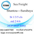 Shantou Port Sea Freight Shipping To Surabaya