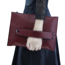 Party Purse Burgundy Envelope Clutches Bag For Women