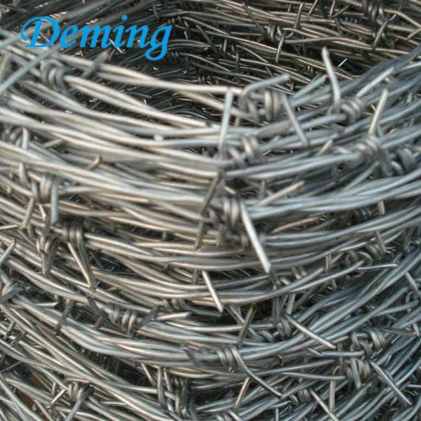 Galvanized 4 Point Barbed Barbed Wire Price Per Roll