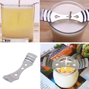 1pcs Metal Candle Wicks Holder Centering Device Holder Tabs For Candle Making Three-hole candle holder DIY Handmade Accessories