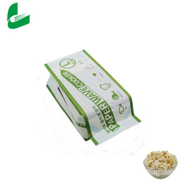 Factory price greaseproof microwave popcorn bags