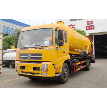 Brand New Dongfeng TJ 10m³ Vaccum Sewage Truck
