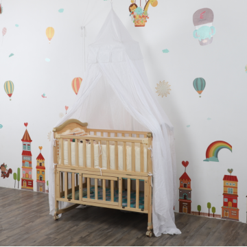 Conical Decorative Mosquito Nets For Baby Crib