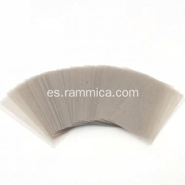 56x28x0.3mm corte de mica natural