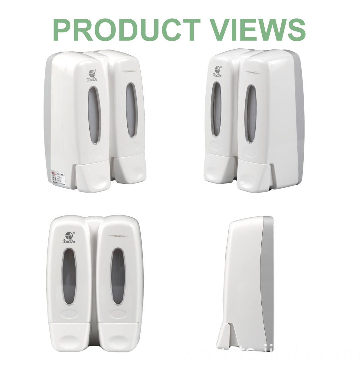 Soap Dispenser 4views