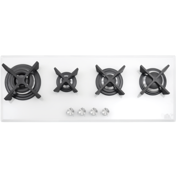 Tempered Glass Hob with 4 Burners