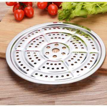 Multi Specification Stainless Steel Circular Steam Plate