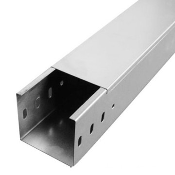 Steel Solid Through Cable Tray