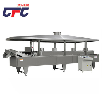 chips machine processing production line
