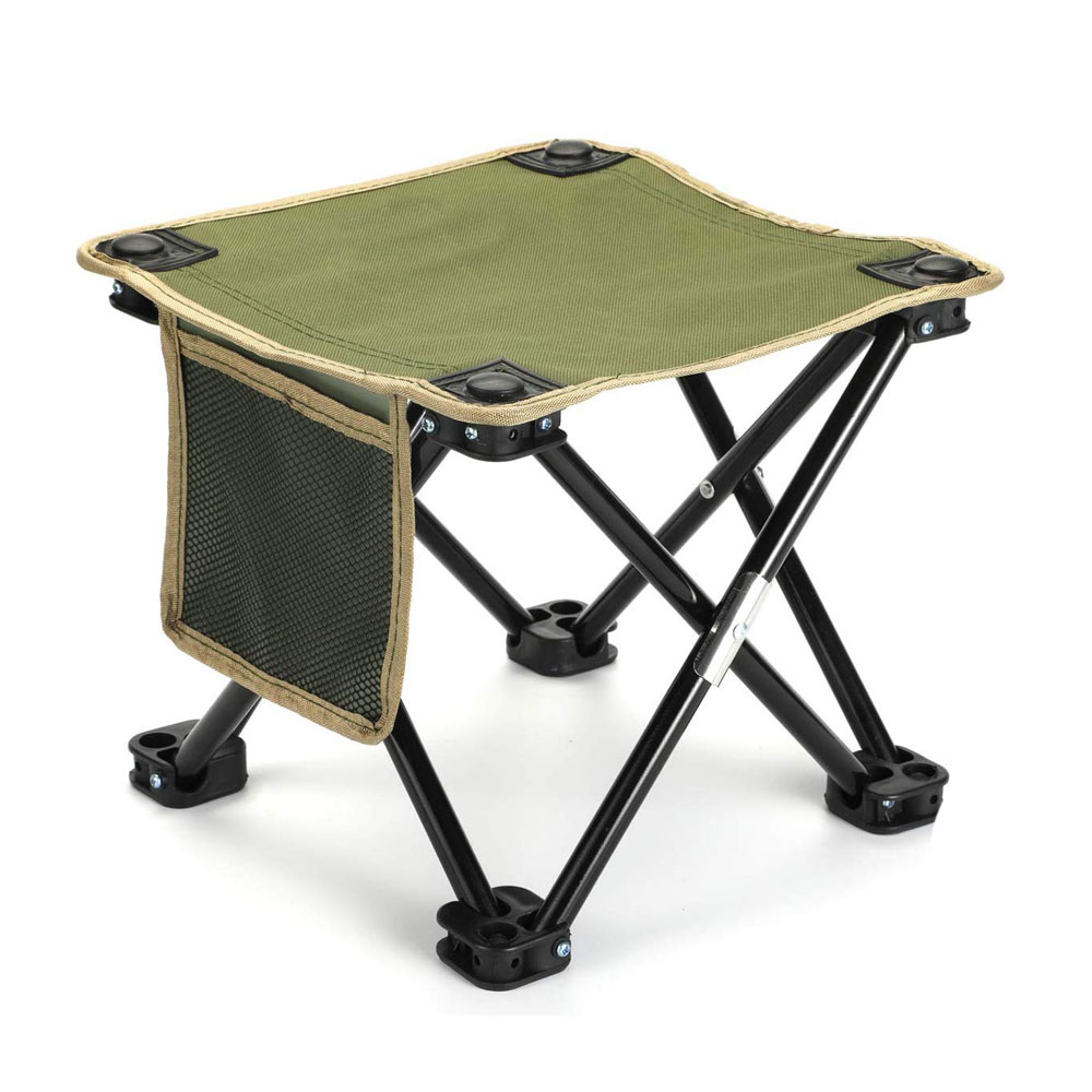 Camp Stool With 4 Legs
