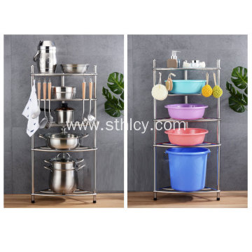 Multilayer Stainless Steel Pan Rack
