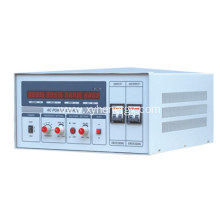 voltage and frequency stabilizer with single phase output