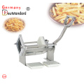 Manual french fries cutter potato chips maker