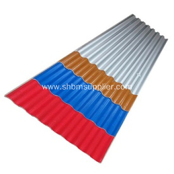 MgO Anti-corosion Insulated Fireproof Waterproof Roofing