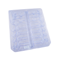 ISO13485 PET Pharmaceutical kitting dialysis catheters tray