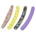 Professional 100/180 Grit Nail File Grit Curved Banana Shape Nail File