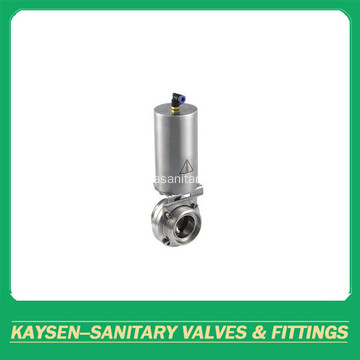 3A Food Grade Pneumatic Butterfly Valves Male end
