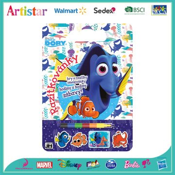 DISNEY&PIXAR FINDING DORY colouring set