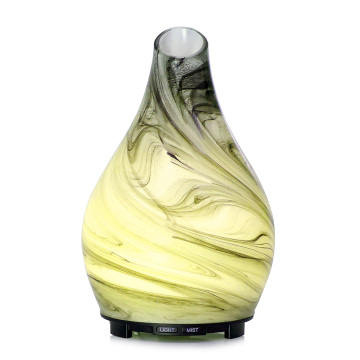 Ultrasonic Aroma Glass Diffuser Oil Lamp Small Humidifier