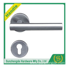 SZD STH-109 New Product Wen Zhou Solid Stainless Steel Lever Door Handle On Rose with cheap price