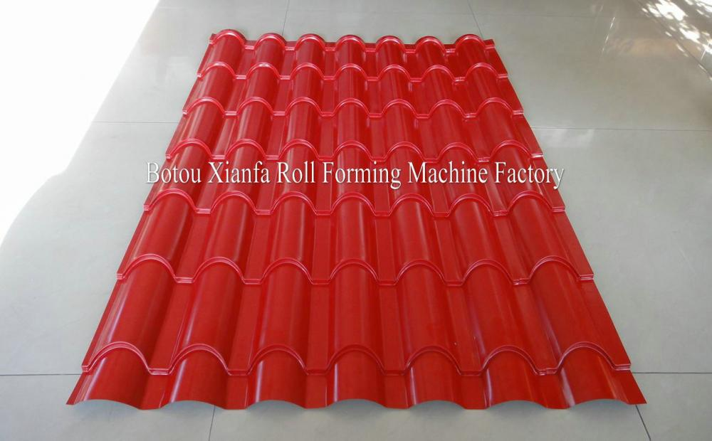 Unique Designed Glazed Tile Roll Forming Machine