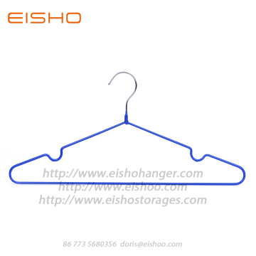 EISHO Vinyl Coated Drip Clothes Hanger
