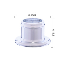 16.3mm perfume sprayer pump aluminum collar for sale