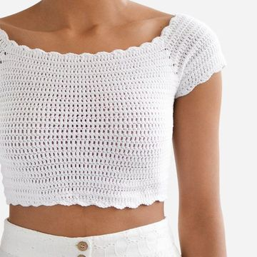 Hot Fashion Crochet Top For Beginners
