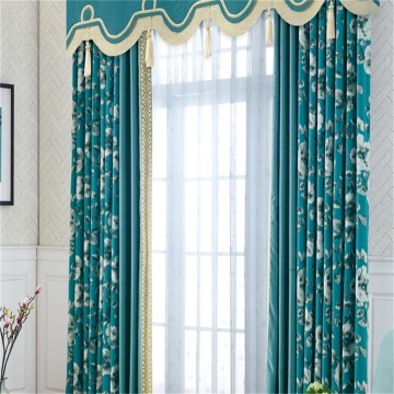 Motorized Cloth Curtain Draperies