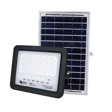High brightness night solar flood light