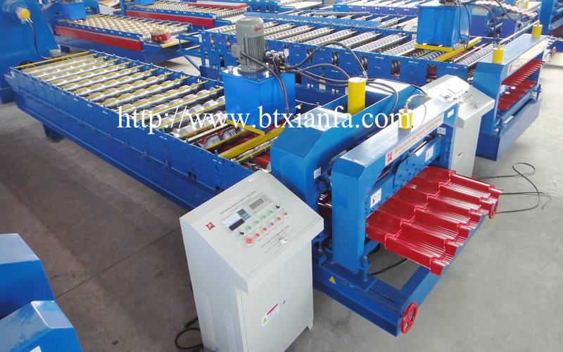 corrugated roofing sheet machine