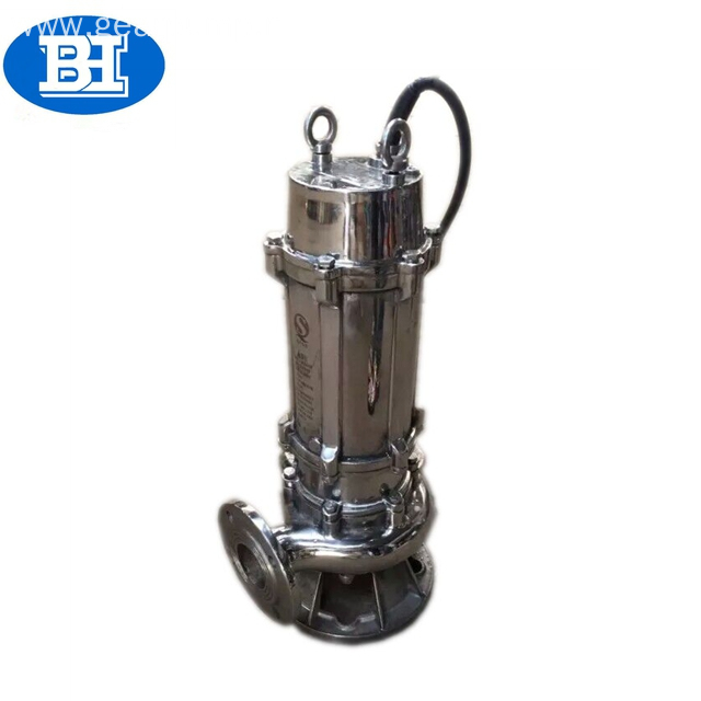 QW Stainless steel submersible pump water for agricultural irrigation