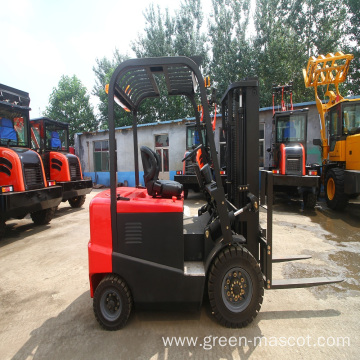2.5 ton electric compact forklift with battery control