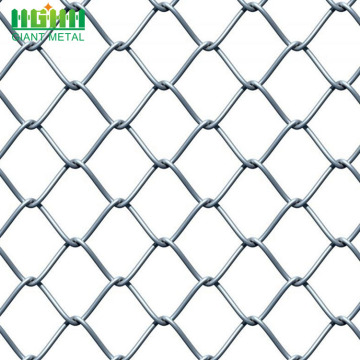 Used PVC Coated Diamond Chain Link Fence