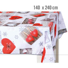 Pvc Printed fitted table covers Seater Table Runner