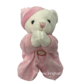 Pink Pray Bear For Baby