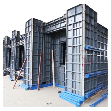 Strong Steel As Cast Concrete Formwork Construction