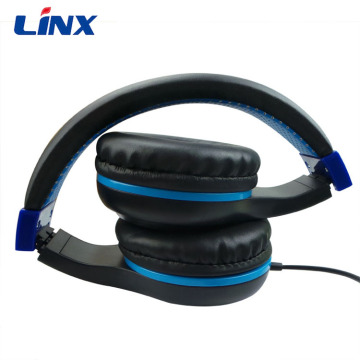 High quality sound wired stereo headphone