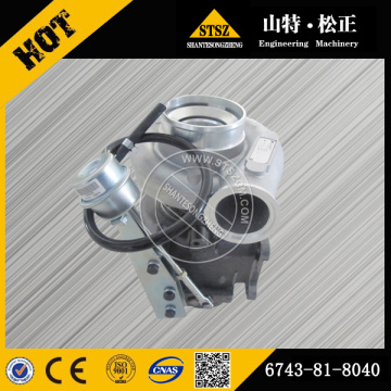 PC300-7 turbocharger assy 6743-81-8040