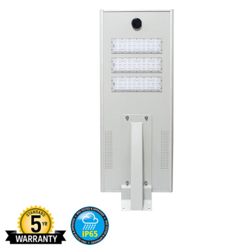 Integrated Solar Street Light 40 Watt 4400lm