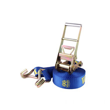 4 Inch ratchet strap with long Aluminous Handle