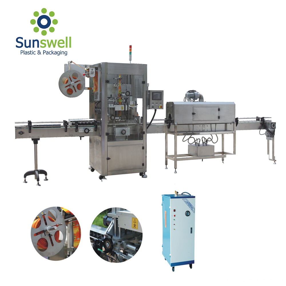 Automatic Soft Drinks Bottle Labeling Machine
