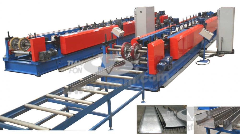 Warehouse Storage Rack Machine
