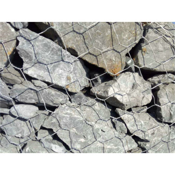 2m*1m*1m Gabion Retaining Wall System With Stones