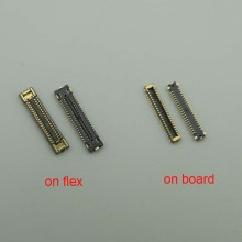 10pcs LCD FPC Screen Display Connector For samsung galaxy A30 A305 A40 A405 A50 A505 A50S A507 On Flex on mother board 40pin