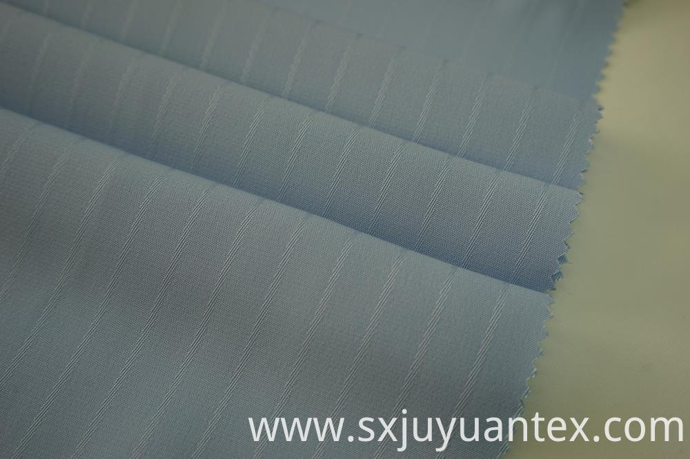Polyester Stripe Dobby Twill Fabric