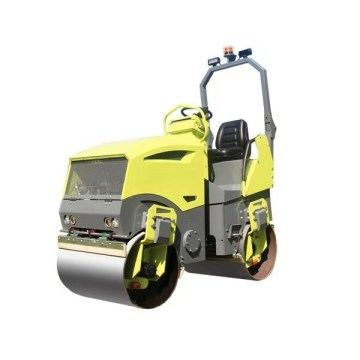 Asphalt vibrating road roller compactor machine